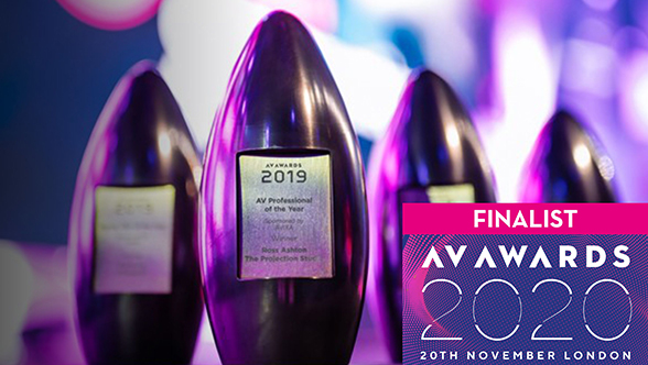 Unilumin has been shortlisted for The AV Awards 2020 with Spectrum of the Seas!
