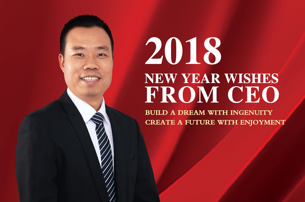 New Year Wishes for 2018 from CEO